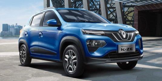 auto elektromobily Renault K-ZE Čína