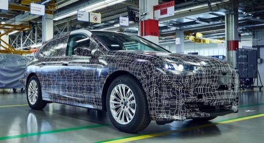 auto elektromobil BMW iNEXT