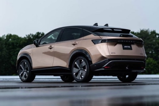 Nissan Ariya elektromobil