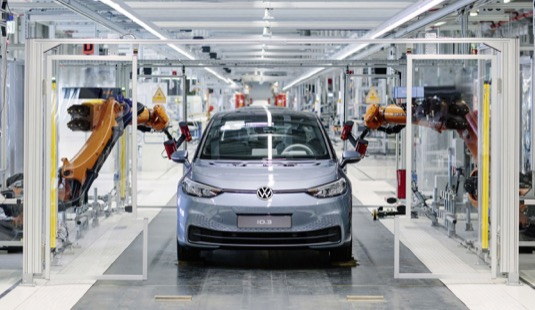 auto elektromobily výroba Volkswagen ID.3 Cvikov