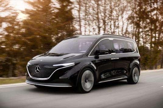 Elektromobil - elektrická dodávka Mercedes-Benz EQT