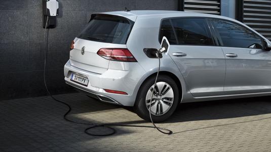 Nabíjení elektromobilu Volkswagen e-Golf