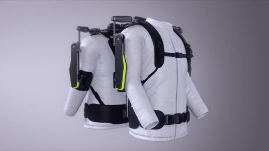 VEX funguje bez baterie či napájení – imituje ramenní klouby člověka a používá víceprvkový modul usnadňující zvedání