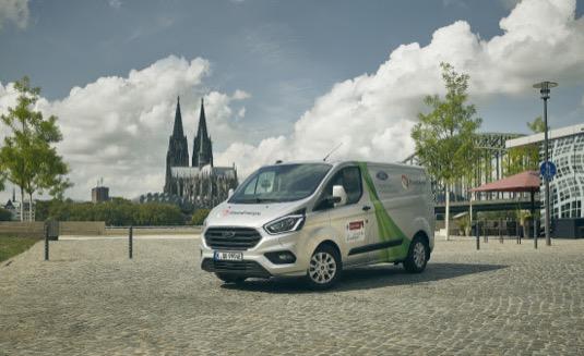 Ford Transit Custom nabízí plug-in hybridní technologii jako první model ve své třídě.