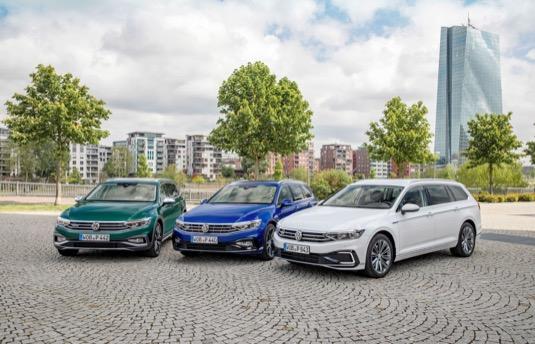 auto plug-in hybrid Volkswagen Passat GTE