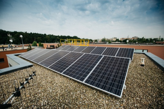 střešní fotovoltaická elektrárna