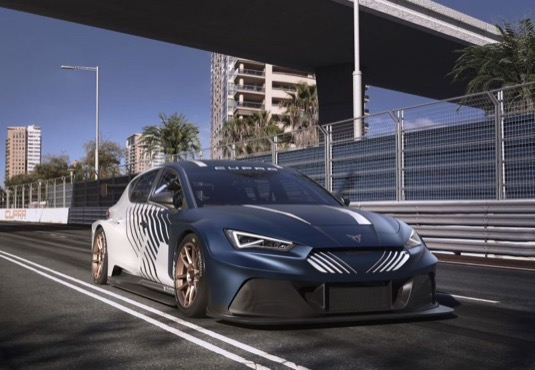 Závodní elektromobil Cupra e-Racer
