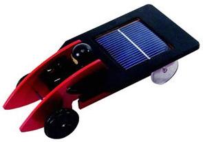 Dřevěné solární autíčko