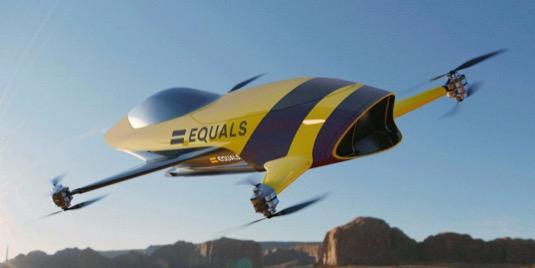 létající drony Airspeeder