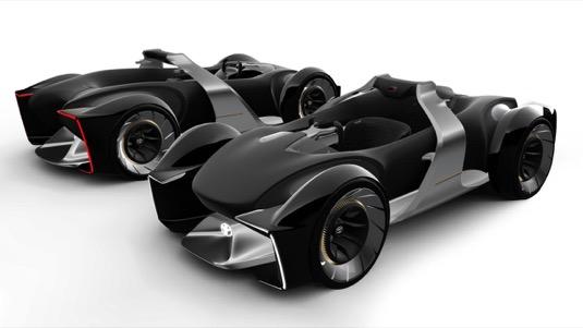 Závodní automobil Toyota e-RACER