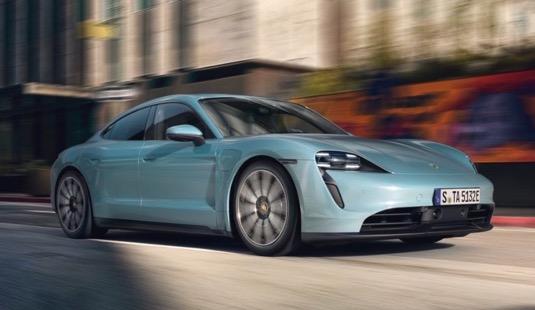 auto elektromobily Porsche Taycan