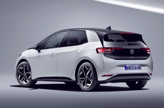auto elektromobil Volkswagen ID.3