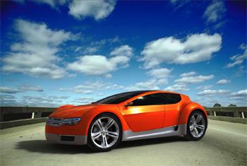 sportovní elektromobil Dodge ZEO