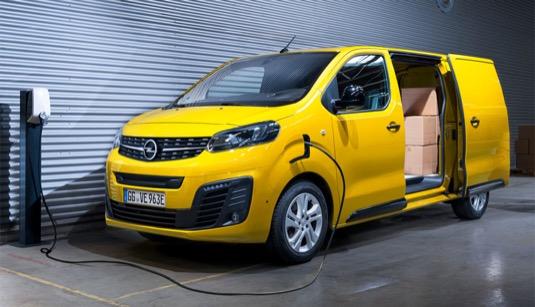 auto elektromobil elektrická dodávka Opel Vivaro-e