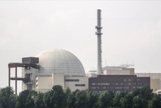 jaderná elektrárna Německo Brokdorf