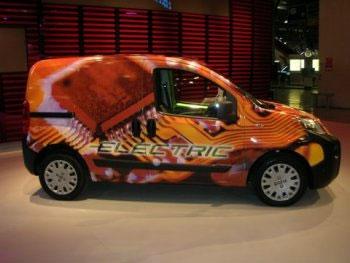 Elektromobil Fiat Fiorino