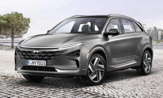 auto na vodík Hyundai Nexo
