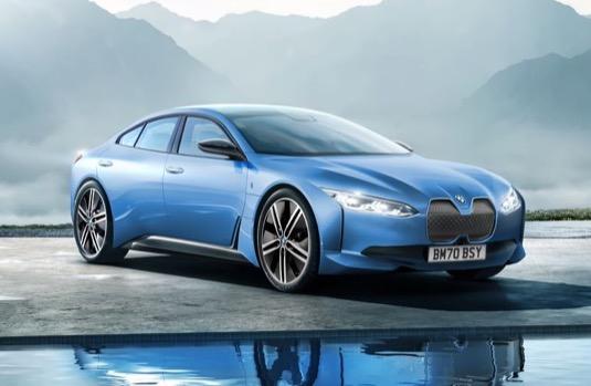 auto elektromobil BMW i4
