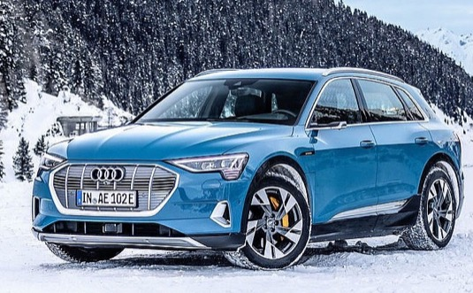 auto Audi e-tron elektromobil