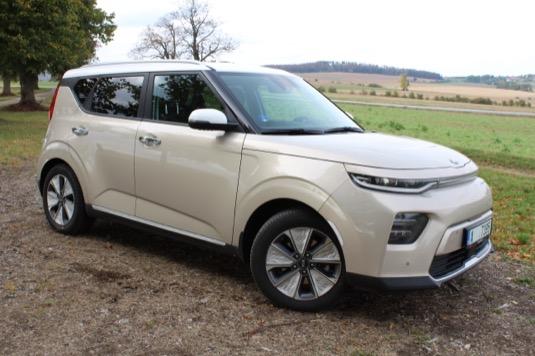auto elektromobil test Kia e-Soul