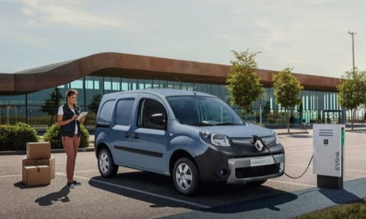 auto elektrická dodávka Renault Kangoo ZE