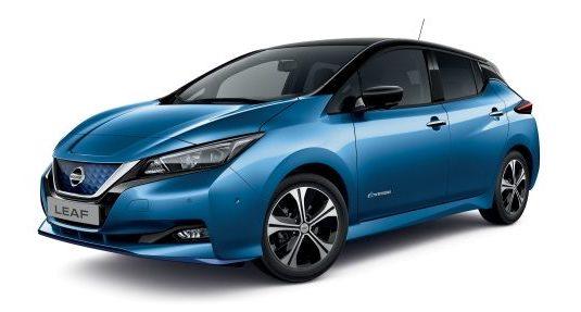 auto elektromobily Nissan Leaf