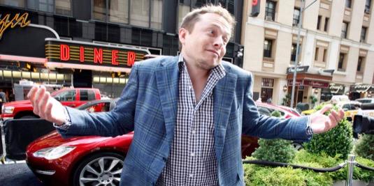 Elon Musk, spoluzakladatem a šéf společnosti Tesla