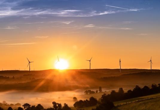 Afrika energetik solární větrné elektrárny
