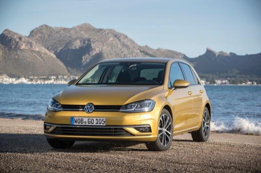 Volkswagen Golf TGI BlueMotion s pohonem na stlačený zemní plyn