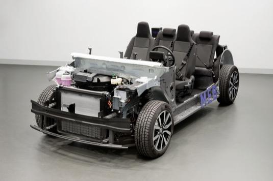 auto elektromobil platforma Volkswagen MEB
