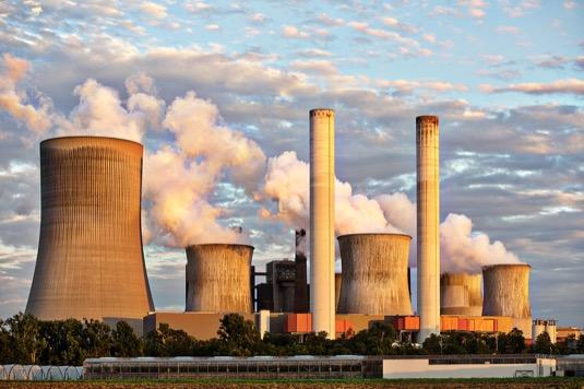 uhelná elektrárna velká Británie