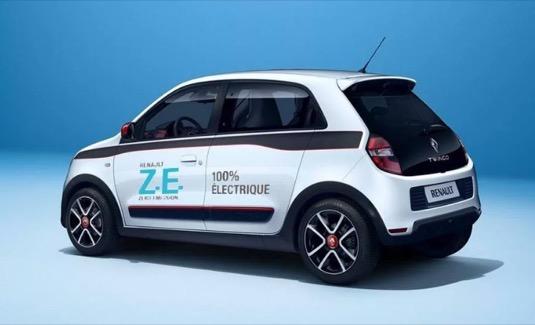 auto elektromobil Renault Twingo ZE