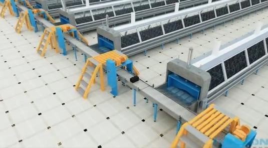 auto Tesla baterie výroba