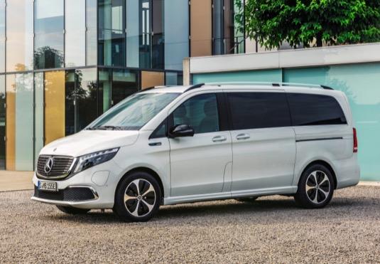 auto elektromobil Mercedes-Benz EQV minivan