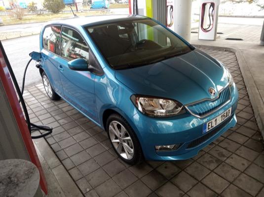 auto elektromobil Škoda CitigoE iV