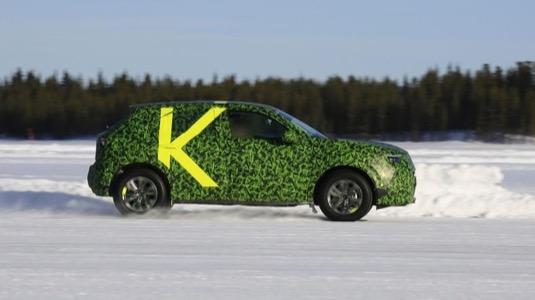 auto elektromobil Opel Mokka X