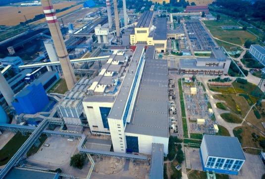 uhelná elektrárna Mělník společnosti ČEZ