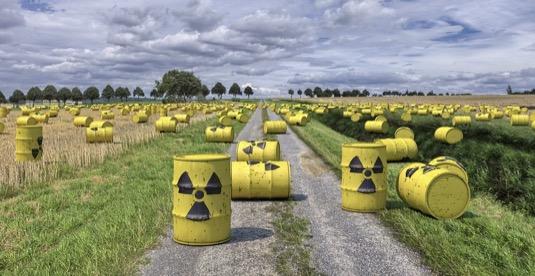radioaktivní odpad