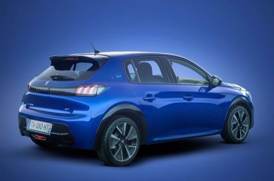 auto elektromobil Peugeot e208
