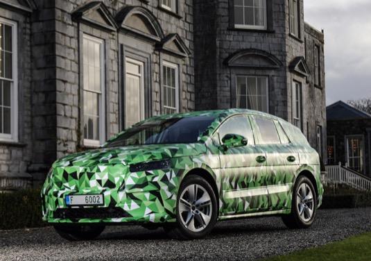 auto elektromobily Škoda Enyaq iV