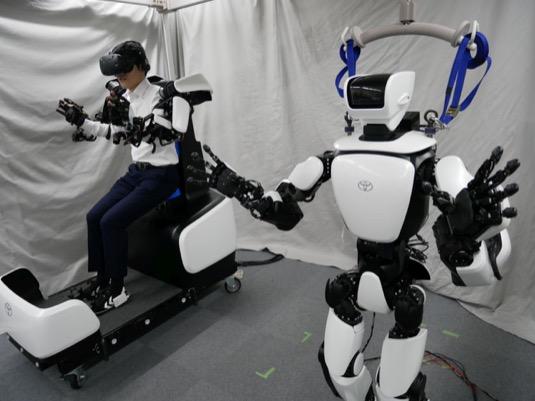 Toyota roboti Olympiáda 2020