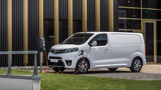 auto elektromobil elektrododávka elektrická dodávka Toyota PROACE Electric