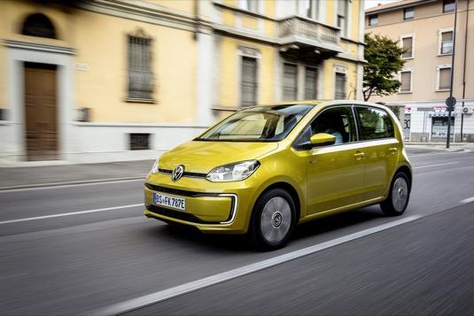 auto elektromobil Volkswagen e-Up!