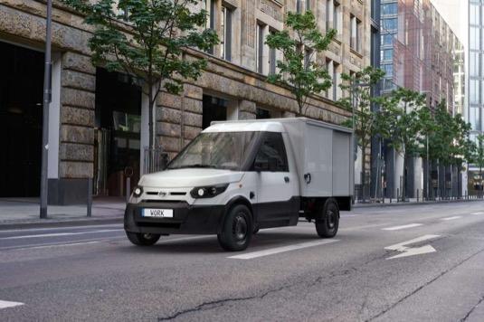 auto elektromobily nákladní dodávka StreetScooter Work