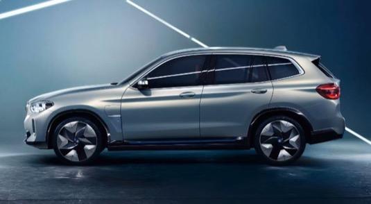 auto elektromobil BMW iX3