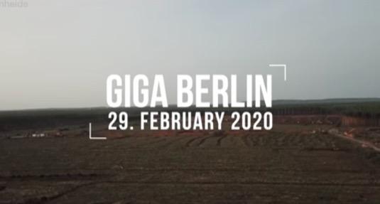 továrna Tesla Gigatovárna 4 gigafactory Giga Berlín
