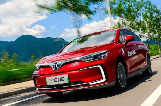 auto elektromobily BAIC EU-Series