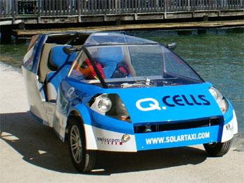 Solární taxi