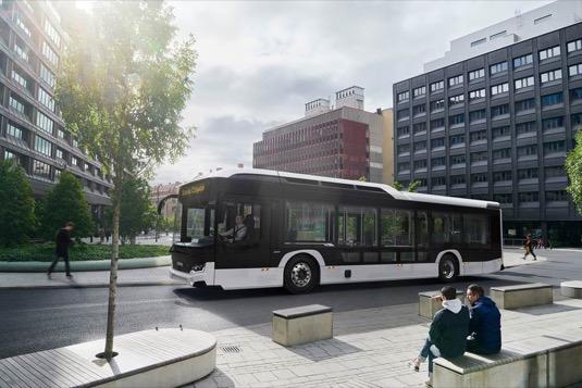 elektrobus elektrický autobus Scania