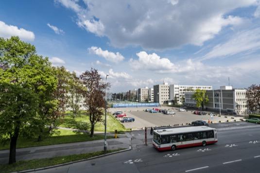 Koleje Strahov, největší koleje v ČR jsou součástí největšího projektu EPC (ČVUT)
